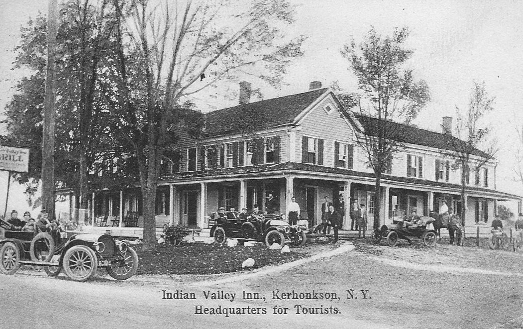 Indian Valley Inn, Kerhonkson, N.Y., Headquarters for Tourists