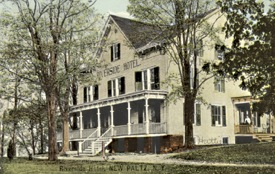 The Riverside Hotel was at the foot of Main St at the Wallkill River.
