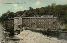 Circa 1915 Wallkill River Dashville Falls