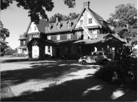 Marion Borden's home. credit Historical Society of Shawangunk and Gardiner