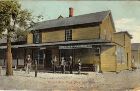 The Accord Post Office and Store of Ira Davenport