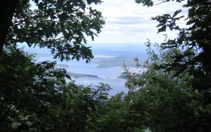 Ashokan Reservoir as seen from High Point Mountain in the Catskills